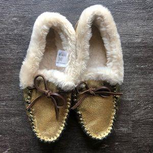 NWOT J Crew house slippers
